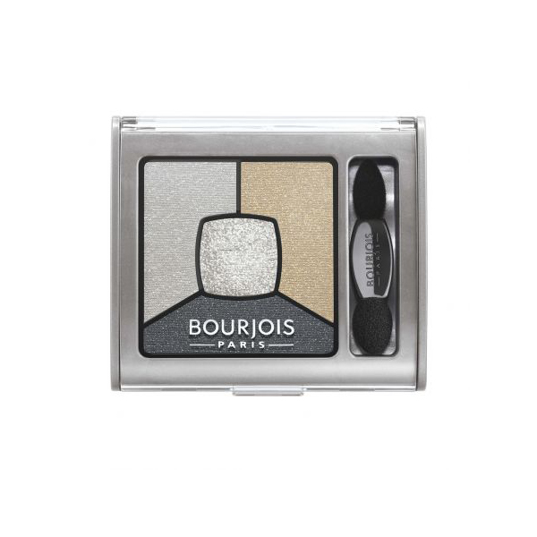 Bourjois Smoky Stories Quattro 09 Grey Zy Inlove 4 ágyas szemfesték